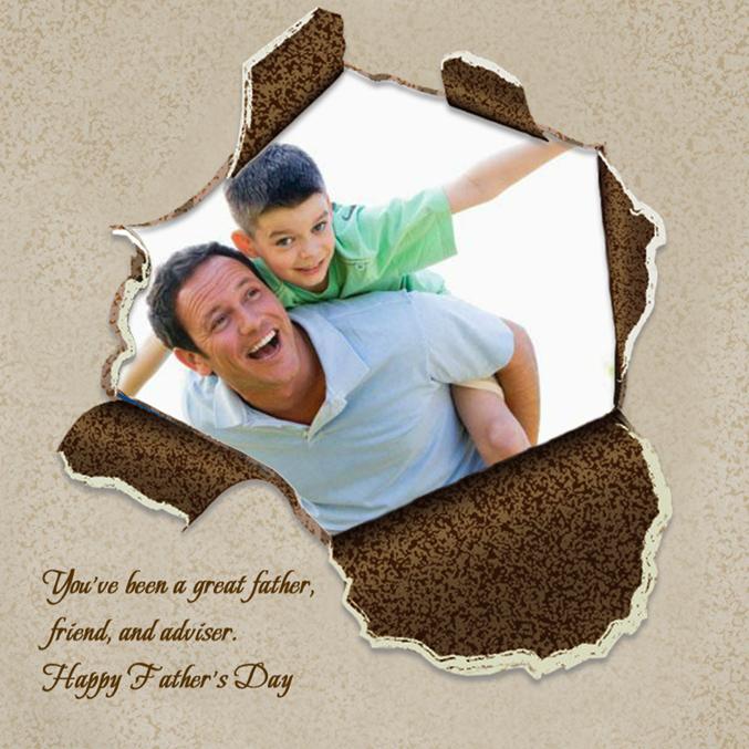 Cartão para o dia dos Pais