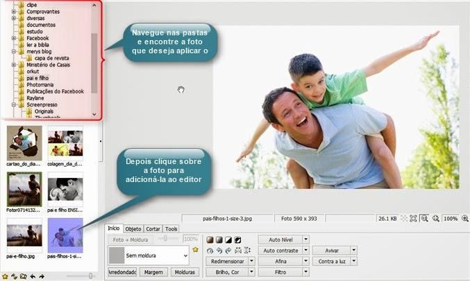 editando no photoScape