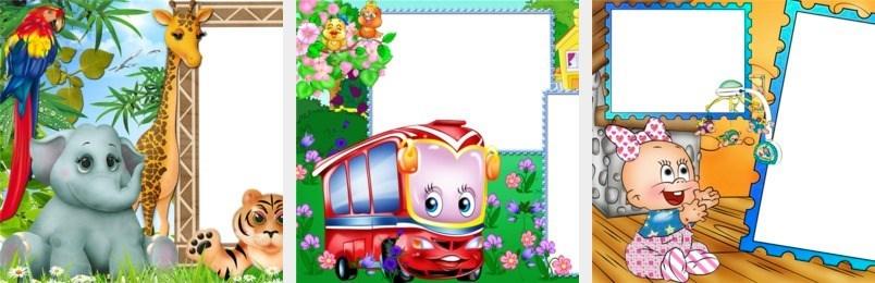 Modelos de Montagem de Fotos para o Dia das Crianças